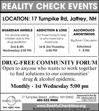 Drug-Free Community Forum