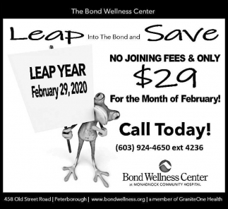 Leap Into The Bond And Save