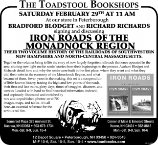 Iron Roads Of The Monadnock Region