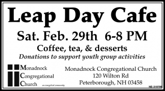 Leap Day Cafe
