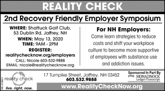2nd Recovery Friendly Employer Symposium