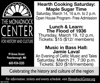 Hearth Cooking Saturday