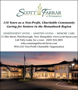 110 Years As A Non-Profit, Charitable Community Caring For Seniors