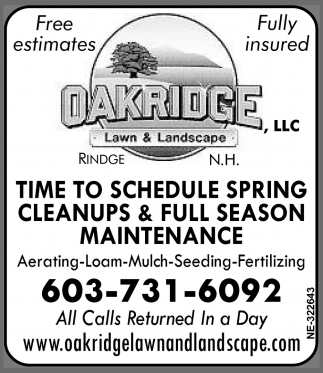 Free Estimates, Fully Insured