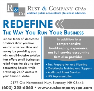 Redefine The Way You Run Your Business