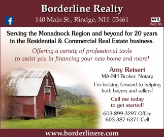 Serving The Monadnock Region And Beyond For 20 Years