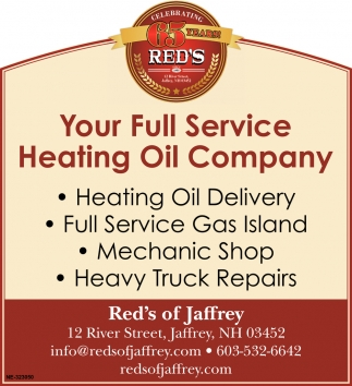 Your Full Service Heating Oil Company