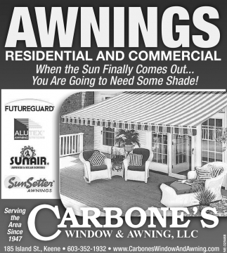 Awnings Residential And Commercial