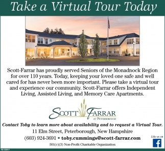 Take A Virtual Tour Today