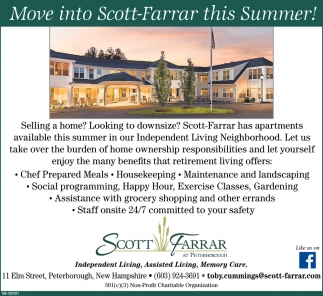 Move Into Scott-Farrar This Summer!