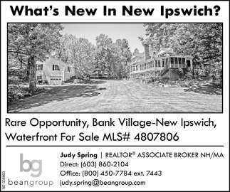 What's New In New Ipswich?