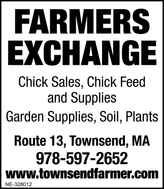 Chick Sales, Chick Feed And Supplies