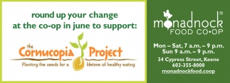 Round Up Your Change At The Co-Op In June