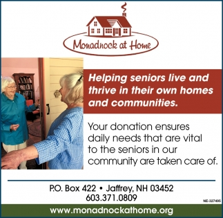 Helping Seniors Live And Thrive In Their Own homes And Communities