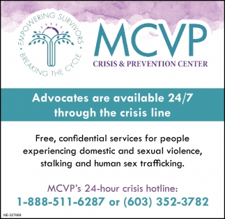 Advocates Are Available 24/7 Through The Crisis Line