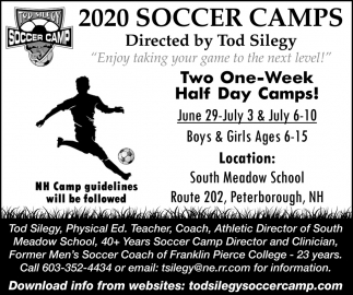 2020 Soccer Camps