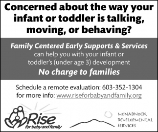 Family Centered Early Supports & Services