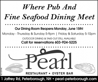 Where Pub And Fine Seafood Dining Meet
