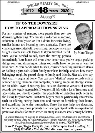 Up On The Downsize How To Approach Downsizing