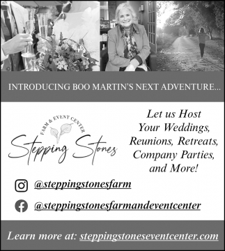 Let Us Host Your Weddings, Reunions, Retreats