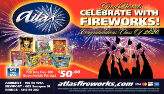 Celebrate With Fireworks!