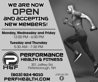 We Are Open And Accepting New Members!