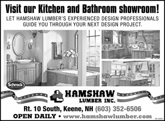 Visit Our Kitchen And Bathroom Showroom!