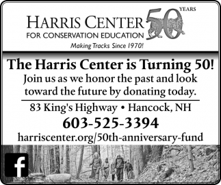 The Harris Center Is Turning 50!