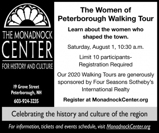 The Women Of Peterborough Walking Tour