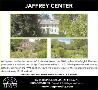 Jaffrey Center