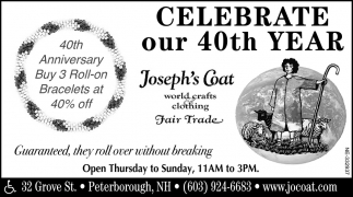 Celebrating Our 40th Year