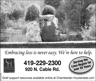 Embracing loss is never easy. We're here to help
