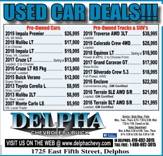 Used Car Deals!