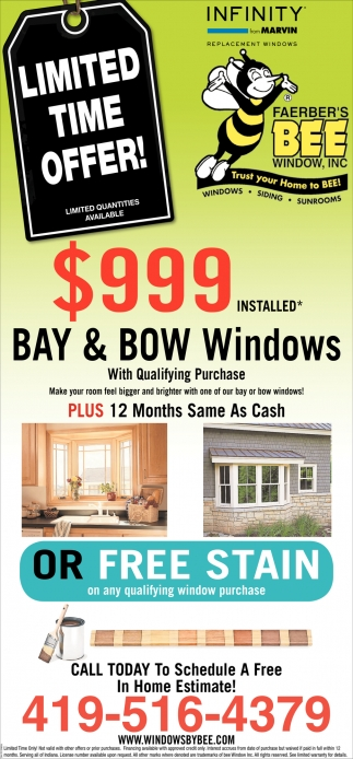 Limited time offer! - $999 installed