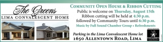 Community Open House & Ribbon Cutting