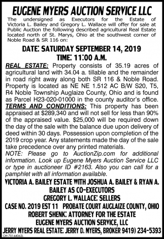 Auction September 14