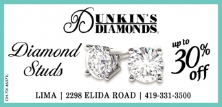 Diamonds Studs - Up to 30% off