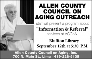 Allen County Council on Aging Outreach