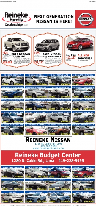 Next Generation Nissan Is Here!
