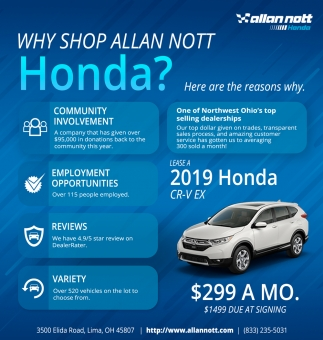 Why Shop Allan Not Honda?