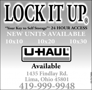 Your Key to Self Storage - 24 Hour Access