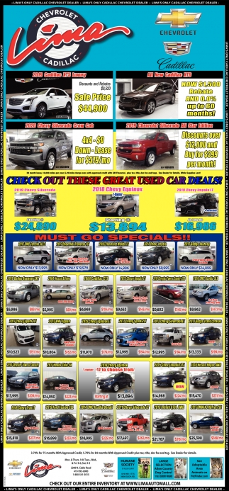 Check Out These Great Used Car Deals