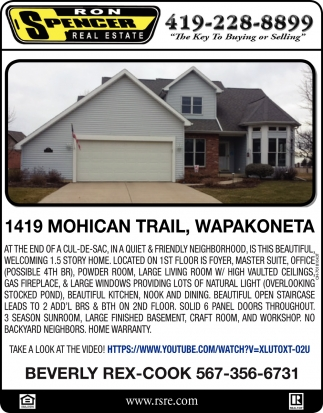 1419 Mohican Trail