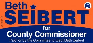 Beth Seibert for County Commissioner