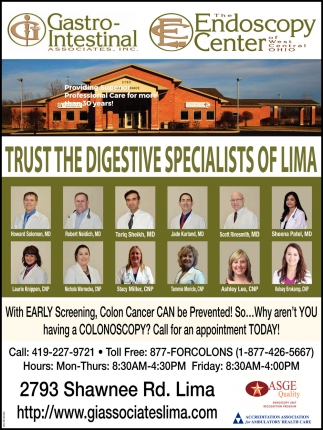 Trust the Digestive Specialists of Lima