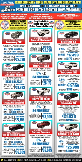 Extraordinary Deals