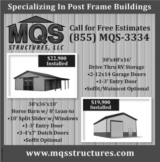 Specializing In Post Fram Buildings