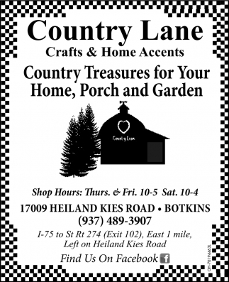 Country Treasures for Your Home
