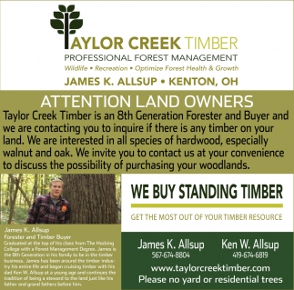 Attention Land Owners