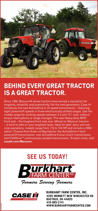 Behind Every Great Tractor